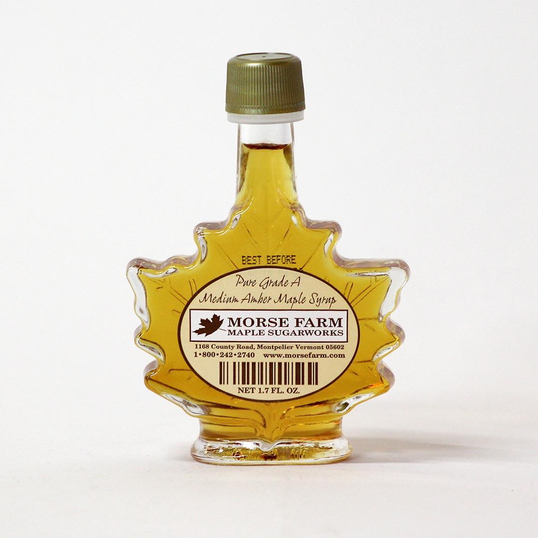 Morse Farm 1.7 Oz Maple Leaf Syrup